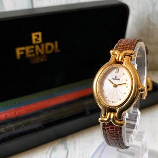 FENDI - 【電池交換済み】FENDI フェンディ 腕時計 640L チェンジベルト 5本