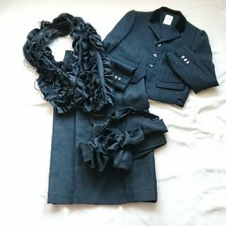 ジェーンマープル(JaneMarple)のJaneMarple DLS ポーチ付きスカート、ジャケット、ジレ 3点SET(テーラードジャケット)