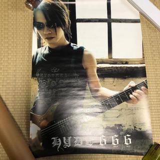 ラルクアンシエル(L'Arc~en~Ciel)のL'Arc-en-Ciel/HYDE 666ポスター(ミュージシャン)