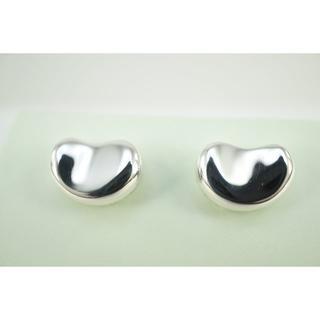 Tiffany & Co. - 美品 TIFFANY & Co. SV925 ビーンズ ピアス 表面研磨済み