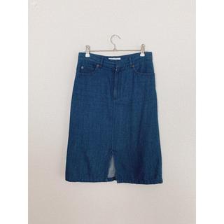 フィーニー(PHEENY)の〈9/22まで〉 PHEENY デニムスカート タイト(ひざ丈スカート)