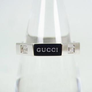 グッチ(Gucci)のグッチ 750WG オクタゴナル リング 12号[g160-7](リング(指輪))