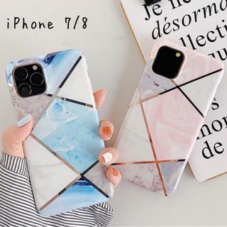 スマホ ケース 大理石 幾何学 iPhone