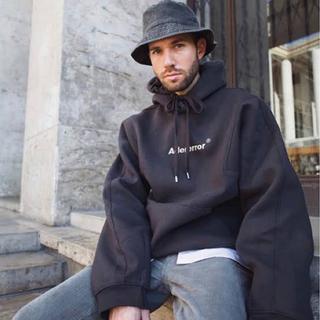 MAISON KITSUNE' - Ader Error oversized logo hoodie パーカー