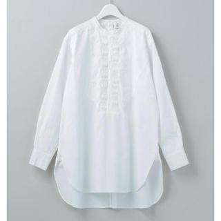 BEAUTY&YOUTH UNITED ARROWS - 今季ROKUピンタックシャツ新品未使用