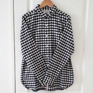 MUJI (無印良品) - 【無印良品】オーガニックコットンフランネルシャツ sizeL
