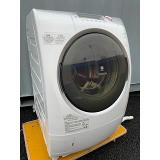 東芝 - TOSHIBA ドラム式洗濯乾燥機 ヒートポンプ ZABOON 9kg/6kg