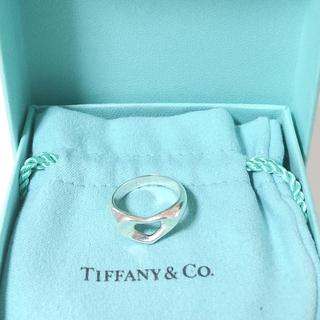ティティアンドコー(titty&co)のTIFFANY&Co ティファニー sv925 オープンハート リング 94(リング(指輪))