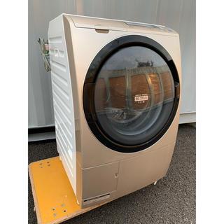日立 - HITACHIドラム式洗濯乾燥機 ビッグドラムスリム 風アイロン 9kg/6kg