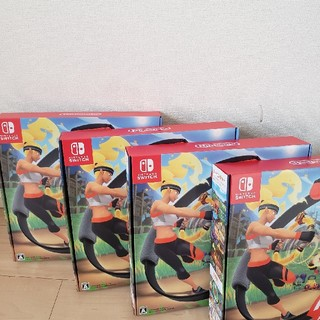 Nintendo Switch - リングフィットアドベンチャー新品×4