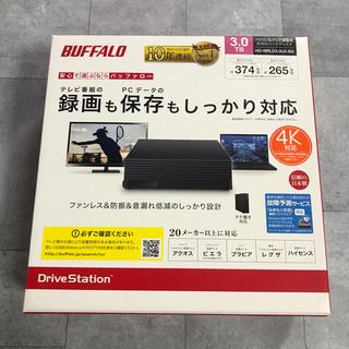 Buffalo - バッファロー  3TB 外付けハードディスクドライブ スタンダードモデル