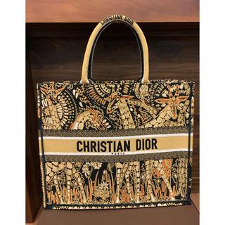 Christian Dior - 新品/最新作¥35万品 クリスチャンディオールアニマル キャンバス トートバッグ