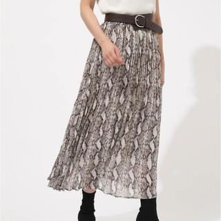 アズールバイマウジー(AZUL by moussy)のAZUL BY MOUSSY イレギュラープリーツスカート(ロングスカート)