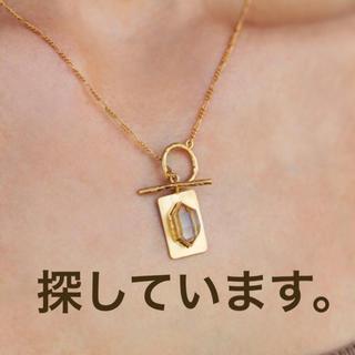 ALEXIA STAM - alexiastam crystal plate necklace