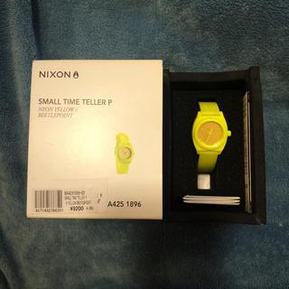 ニクソン(NIXON)のNIXON ネオン イエロー(腕時計)
