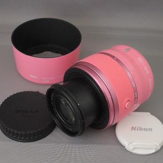 ニコン(Nikon)のニコン NIKON1 30-110mm F3.8-5.6VRピンク(レンズ(ズーム))