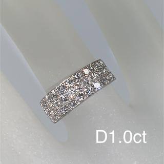プラチナダイヤリング(1.0ct)(リング(指輪))