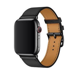 エルメス(Hermes)のApple Watch HERMES 44mm シンプルトゥールレザーストラップ(腕時計(デジタル))