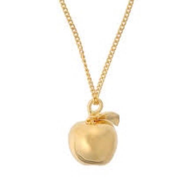 UNDERCOVER(アンダーカバー)のアンダーカバー UVERworld TAKUYA∞着用りんご ゴールドネックレス メンズのアクセサリー(ネックレス)の商品写真