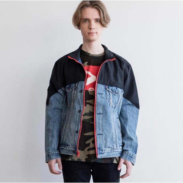 Levi's(リーバイス)のLevi's UNBASICモックネックトラッカージャケット メンズのジャケット/アウター(Gジャン/デニムジャケット)の商品写真