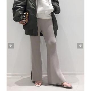 L'Appartement DEUXIEME CLASSE - 新作L'AppartementアパルトモンSlit Knit Pants34