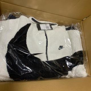 NIKE - NIKEボアジャケット 白黒 2XL