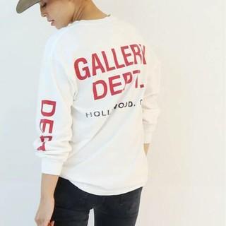 DEUXIEME CLASSE - 新品タグ付ドゥーズGALLERY DEPT BACKプリント LONG Tシャツ
