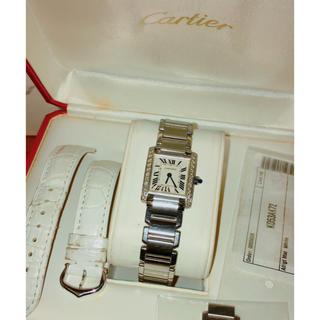 Cartier - カルティエ タンクフランセーズSMアフターダイヤ