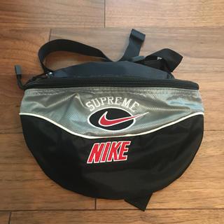 Supreme - 美品 Supreme × NIKE 19ss Shoulder Bag シルバー