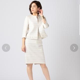 エストネーション(ESTNATION)のhira様専用ESTNATION セットアップ ツイードジャケット&スカート(スーツ)