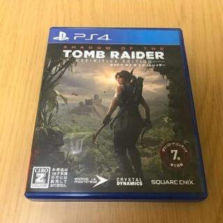 PlayStation4 - ps4 トゥームレイダー