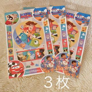 Disney - ピクサー ポストカード 3枚