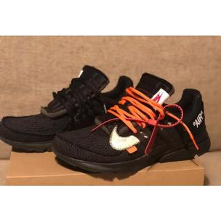 OFF-WHITE - Nike off-white airpresto エアプレスト オフホワイト