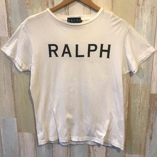 Ralph Lauren - ラルフローレン Lサイズ 白 Tシャツ 両面プリント