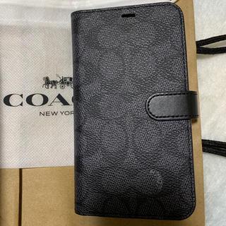 COACH - COACH iPhone  XR 手帳型ケース シグネチャー柄