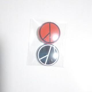 ピースマイナスワン(PEACEMINUSONE)の👑BIGBANG G-DRAGON ミニミニ缶バッジ👑2個セット(アイドルグッズ)