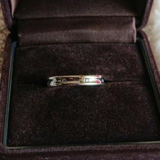 ポンテヴェキオ プラチナ ダイヤモンドリング(リング(指輪))