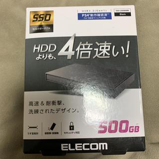 エレコム(ELECOM)の(新品)ELECOM ESD-EJ0500GBK 外付け SSDポータブル(PC周辺機器)