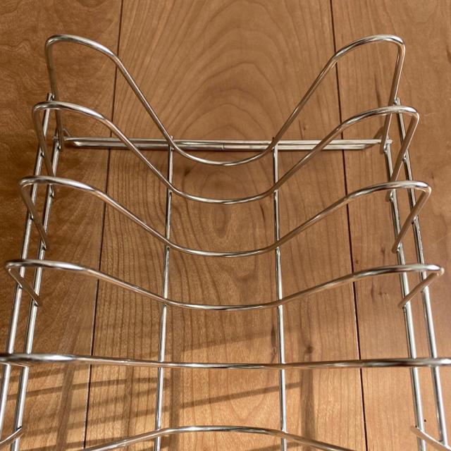 MUJI (無印良品)(ムジルシリョウヒン)の無印良品 ディッシュスタンド インテリア/住まい/日用品のキッチン/食器(収納/キッチン雑貨)の商品写真