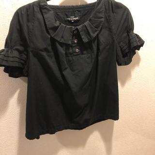 コムデギャルソン(COMME des GARCONS)のトリココムデギャルソン ブラウス(シャツ/ブラウス(半袖/袖なし))