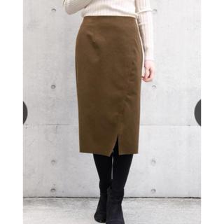 ストロベリーフィールズ(STRAWBERRY-FIELDS)のSTRAWBERRY FIELDS YDスウェード スカート(ひざ丈スカート)