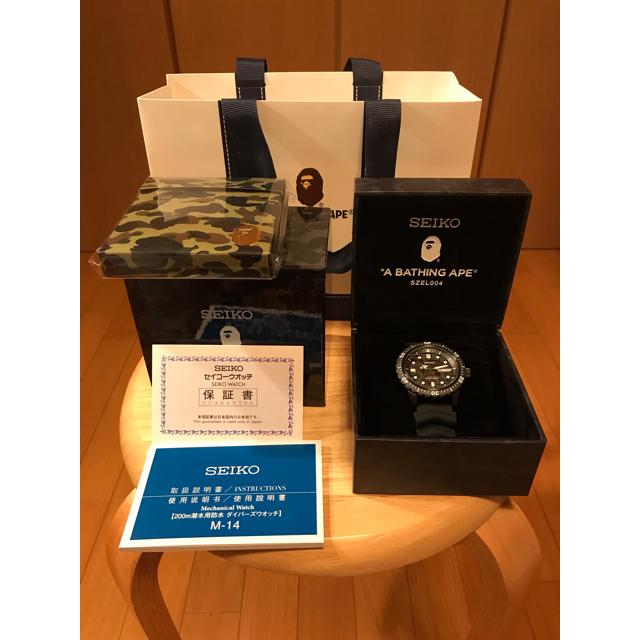 SEIKO(セイコー)の新品 Seiko × Bape ABC Camo Divers Watch メンズの時計(腕時計(アナログ))の商品写真