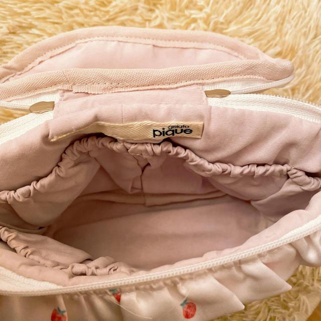 gelato pique(ジェラートピケ)のジェラートピケ  いちご ポーチ  レディースのファッション小物(ポーチ)の商品写真