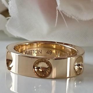 ルイヴィトン(LOUIS VUITTON)のLOUIS VUITTON プティットバーグアンプラントリング❤️(リング(指輪))