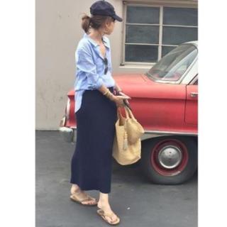 L'Appartement DEUXIEME CLASSE - L'Appartement RIB スカート リブニットスカート