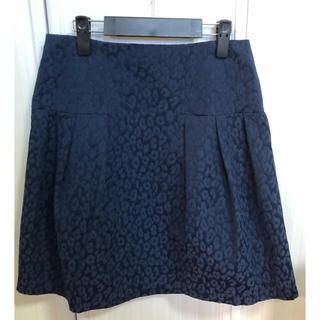 ロペ(ROPE)のROPE 立体的なヒョウ柄 スカート!(ひざ丈スカート)