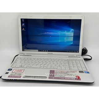 東芝 - 美品 Core i5 Windows10 東芝 リュクスホワイト ノートパソコン