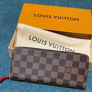 LOUIS VUITTON - 新品未使用 VUITTON財布 ポルトフォイユ・クレマンス ダミエ 赤