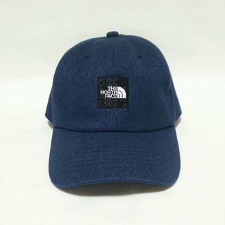 THE NORTH FACE - THE NORTH FACE スクエアロゴキャップ ブルー 美品