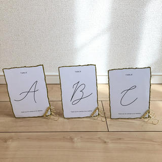 結婚式 ウェディング テーブルナンバー (その他)